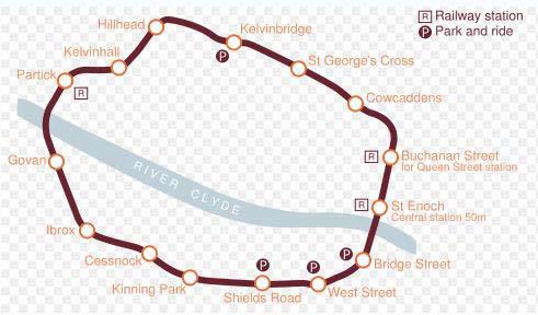Перед вами карта метро в