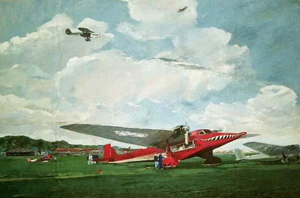 картины самолетов: